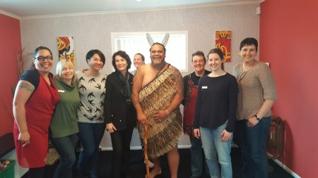 Staff from Whangarei i-site visitor centre and Kiwi North